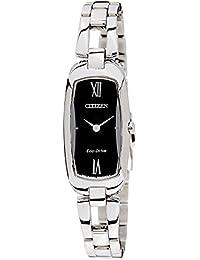 Citizen Eco-Drive Analog Black Dial Women's Watch EX1100-51E