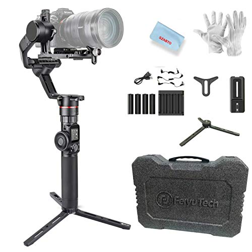 FeiyuTech AK2000 3-Axis Gimbal Stabilizer for Sony Canon 5D Panasonic GH5 GH5S Nikon D850