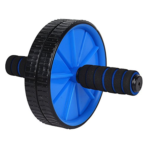 Inditradition AB Wheel Roller / Ab Roller / Power Roller - Total Body Workout (With Free Knee Mat)