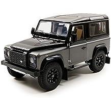 Kyosho 1/18 Scale 08901CGR - Land Rover Defender 90 Autobiography - Grey / Black