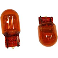AERZETIX: 2 x Bombillas WY21W 12V WX3x16d Trifa Made in Germany Alta calidad Luz naranja-ámbar C4281