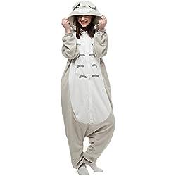 Albrose - Pijama con diseño de figuras para cosplay Totoro XL