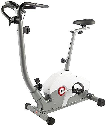 fitne fahrrad PEARL sports Ergometer: Profi-Heimtrainer HT-750, Pulsmesser, 5 kg Schwungmasse (Fahrradergometer)