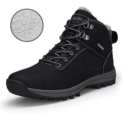 Lapens LPUKMB572 - Botas de Caucho para Hombre Negro Negro, Color Negro, Talla 46
