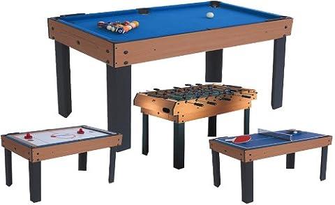 Table Multi Jeux 5 En 1 - BCE - Table Multi