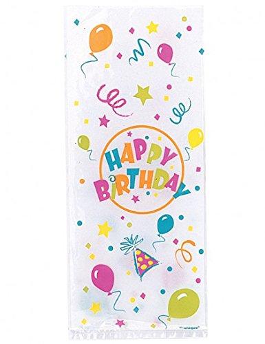 Sachets à bonbons anniversaire (x20) 0011179100286