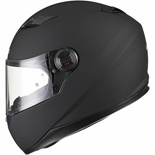 Agrius Rage Solid Motorcycle Helmet L Matt Black