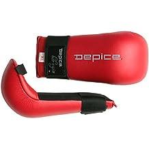 DEPICE - Protector de puños para kárate rojo rojo Talla:extra-large