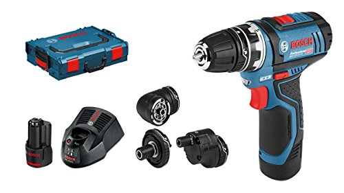 Bosch Perceuse-visseuse sans fil GSR 12V Lot de 15FC, L-BOXX, 2x 2ah, 1, 06019F6000