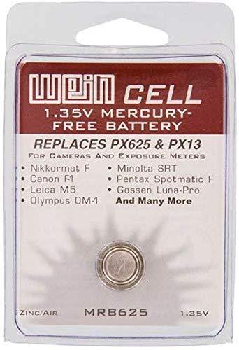 Diverse Knopfzelle MRB625 Zink/Luft Batterie