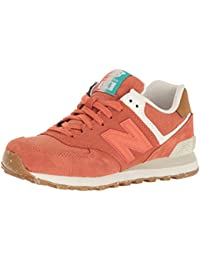 New BalanceWl574sea - Zapatillas mujer , color rosa, talla 43 EU