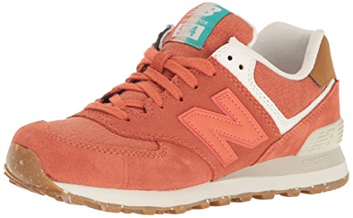 new-balance-574-global-surf-baskets-basses-femme-orange-41-eu