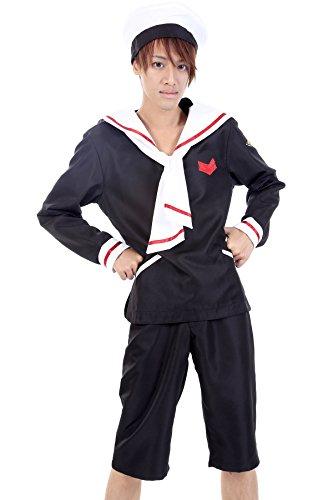 De-Cos Cardcaptor Sakura Shaoran Xiaolang Li Syaoran Outfit 2nd Ver (Cardcaptor Sakura Cosplay Kostüme)