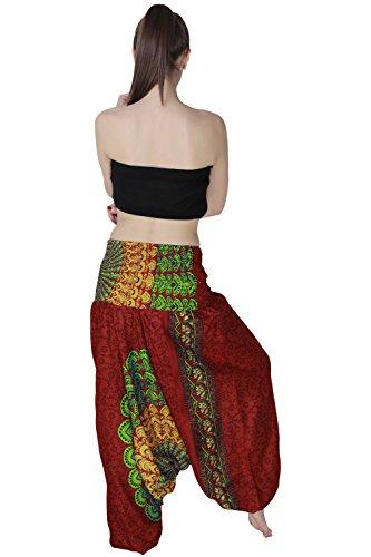 Aakriti Gallery -  Pantaloni  - Donna Red