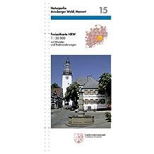 Freizeitkarte Nordrhein-Westfalen, Bl.15, Naturparke Arnsberger Wald, Homert 07e7a15e54