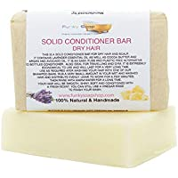 Handcrafted Solid Conditioner Bar for dry hair, 95g, very economical