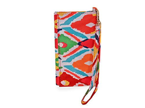 All For Color Multi Ikat ID Wristlet