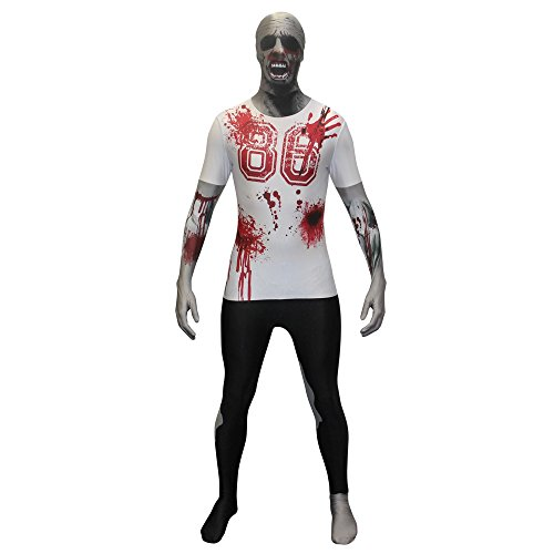 Disfraz de zombie Zapper Morphsuit