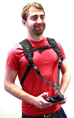 Duragadget zaino imbracatura spalla | petto per trasportare drone + telecomando - professionale - alta qualità