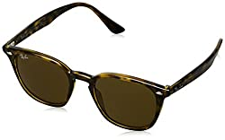 Ray-Ban UV Protected Oversized Unisex Sunglasses - (0RB4258710/7350|50.4 Brown lens)