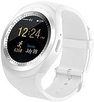 Smart Watch Round Sport Uomo Donna Fitness Bluetooth Smartwatch Phone Mate Schermo Rotondo Esercizio in Esecuz