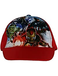 Boys Avengers Cap Sun Hat Iron Man Hulk Captain America Size 3-10 Years