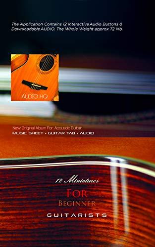 12 Miniatures For Beginner Guitarists: Guitar TAB + Audio (First ...