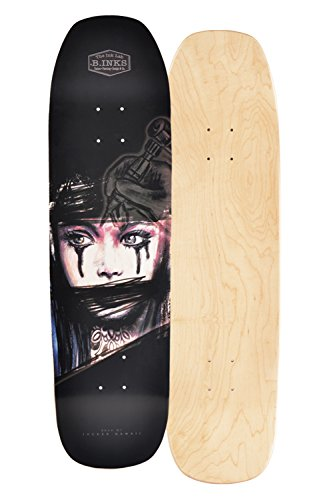 JUCKER HAWAII Skateboard/Cruiser Deck B.Inks