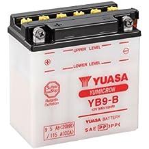 YUASA BATERIA YB9-B abierto - sin ácido