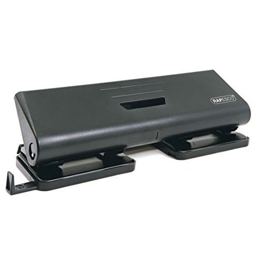 Rapesco Hole Punch - 75-P 4-Hole Punch, 16 Sheet Capacity. Test