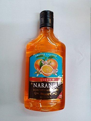 Mallorca Orangenlikör Plastikflasche 35cl 18% Alkohol