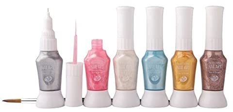 Rio Professional Nail Art Pens - Pastel Collection