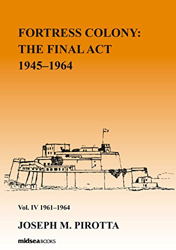 Fortress Colony: The Final Act 1964-1968 - Vol 4: 1962-1968: Vol IV: 1962-1968