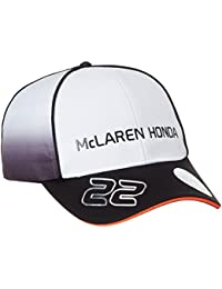 McLaren F1 Honda Button 2016 Men's Cap, Men, McLaren Honda Button Cap 2016, black/white