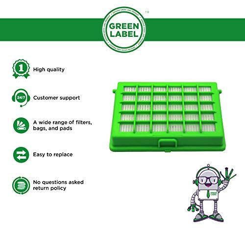 Zoom IMG-1 green label filtro hepa per