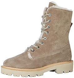 Kennel und Schmenger Damen Joe Combat Boots, Beige (Ombra/Natur Sohle Creme 262), 38 EU