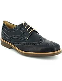 Anatomic Gel - Zapatos de cordones para hombre marrón tabaco