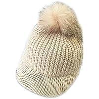LYX Sombrero para Exteriores Espesar la Gorra de béisbol para Damas cálidas, Adecuada para Viajes al Aire Libre, Campamento de Invierno