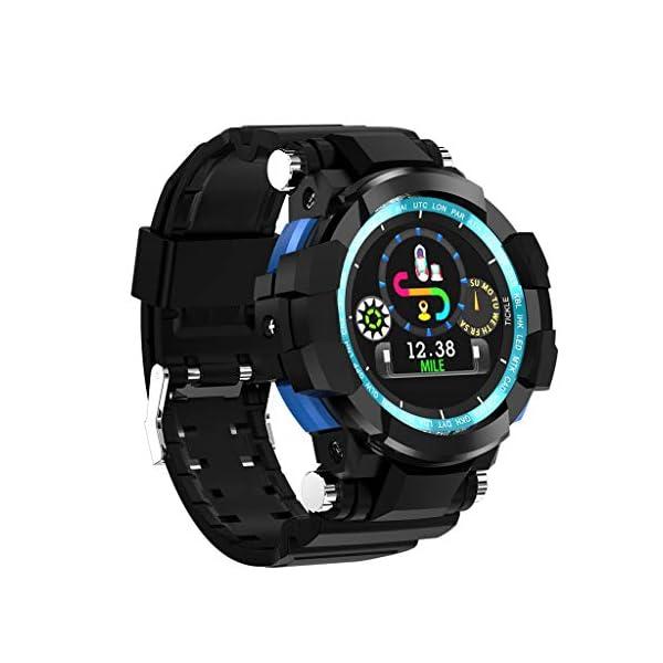 12shage Reloj Inteligente Hombre, IP68 Smartwatch con Pulsera Actividad Reloj Deportivo Monitor de Sueño Pulsómetro Podómetro para Andriod y iOS 2