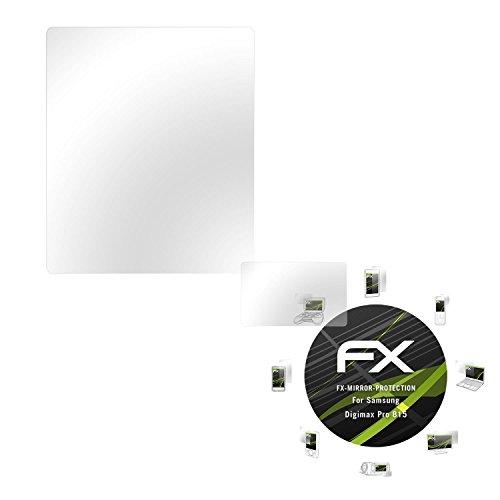 atFoliX Displayfolie kompatibel mit Samsung Digimax Pro 815 Spiegelfolie, Spiegeleffekt FX Schutzfolie (1er Set) Samsung Digimax