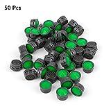 50 Stück Perlatoren Strahlregler m24 Wasserhahn Sieb Einsatz, Hothap Wasserhahn Luftsprudler Auslauf Net verhindern das Spritzen