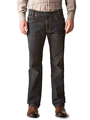 Walbusch Herren Jeans-Jeans einfarbig Slim Fit in den Farben Blau, Hellblau,  Blue