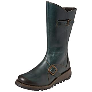Fly London Mes 2 Women Boots, Green(Petrol 017), 6 UK (39 EU)