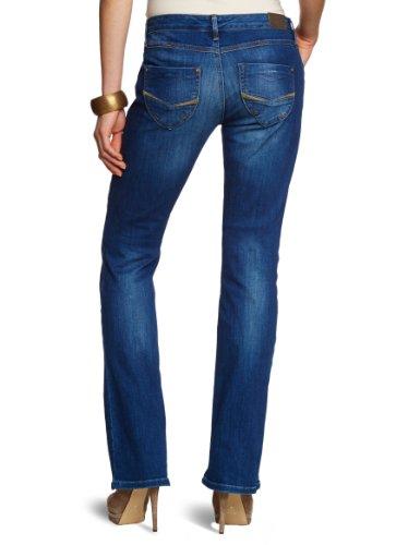 Cross Jeans - Jean - Femme Bleu (Brilliant Dark Blue Used)