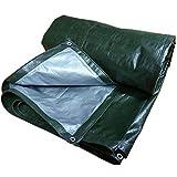 GUOWEI Plane wasserdicht Frostschutzmittel Sonnenschutz staubdicht Antialterung im Freien, 13 Größen (Farbe : Green, größe : 7.8x7.8m)