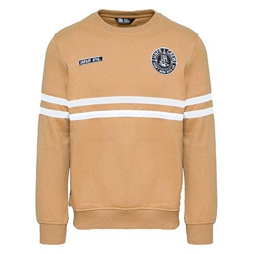 Unfair Athletics Herren Sweatshirt DMWU, Größe:3XL, Farbe:Brown