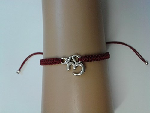 om-bracelet-with-red-cord