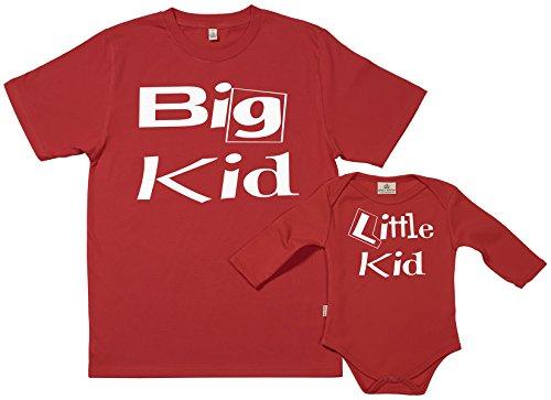 Spoilt Rotten SR - dans Une boîte Cadeau - Big Kid & Little Kid - dans Une boîte Cadeau, Rouge, XXL & 12-18 Mois