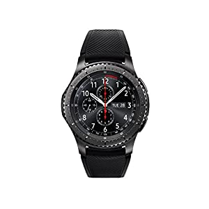 "Samsung Gear S3 Frontier 1.3"" SAMOLED GPS (satélite) Negro reloj inteligente - Relojes inteligentes (3,3 cm (1.3""), SAMOLED, Pantalla táctil, GPS (satélite), 63 g, Negro)"
