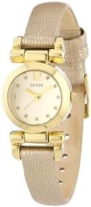 Guess Damen-Armbanduhr XS Ladies Jewelry Analog Quarz Leder W0125L4